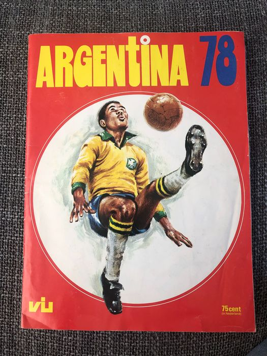 Variant Panini - FKS - World Cup Argentina 78 - Complete album Dutch edition - 1978