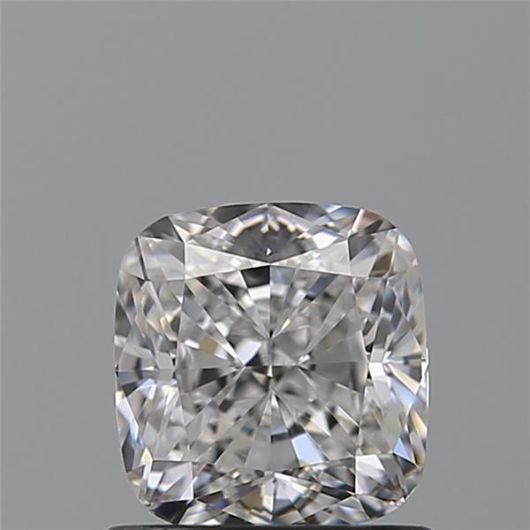 1 pcs Diamante - 0.91 ct - Cojín - D (incoloro) - VVS2