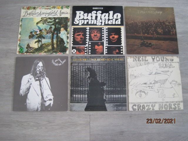 Buffalo Springfield, Neil Young & Related - Diverse Titel - LP's - 1967/1978