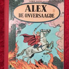 Alex - De onversaagde - Hardcover - First edition - (1956)