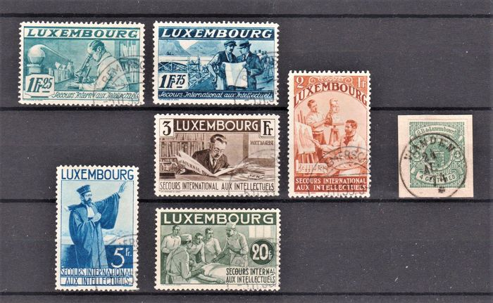 Luxemburg 1874/1935 - Selection of 7 pieces of the period