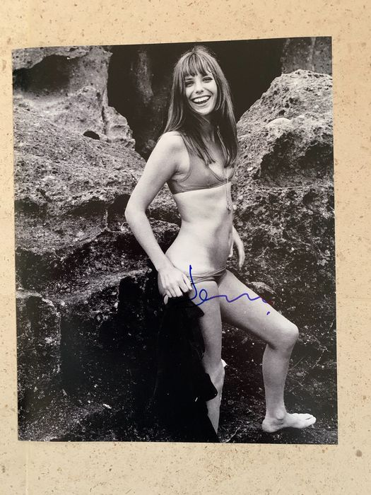 Jane Birkin - Lot of 17 - Signed Still with COA, and more - see images - Foto, Handtekening, Poster