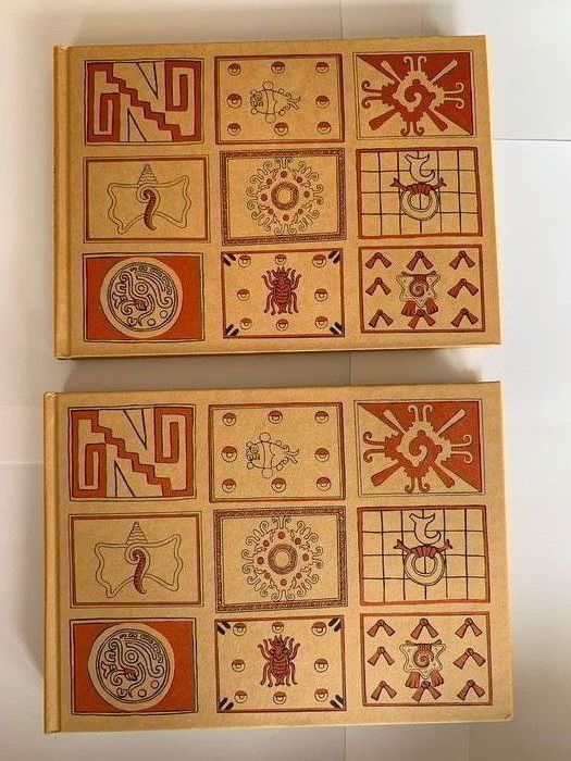 Zelia Nuttall & Elizabeth Hill Boone - The Book of The Life of the Ancient Mexicans (Facsimile) & Codex Magliabechiano (Notes/Commentary) - 1983