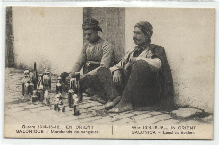 Greece - Types and Folklore - incl. Professions, costumes from div. regions - where Salonique - Postcards (Collection of 57) - 1900-1940