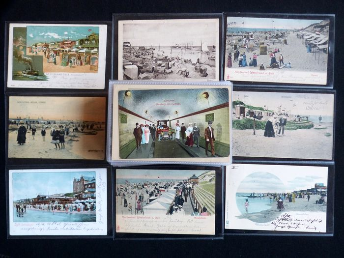 Different - Europe, Military, to travel - Postcards (Collection of 83) - 1900
