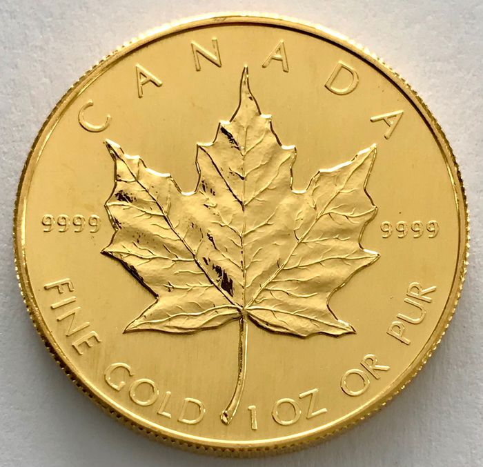 Canada. 50 Dollars 1985 - Maple Leaf - 1 oz