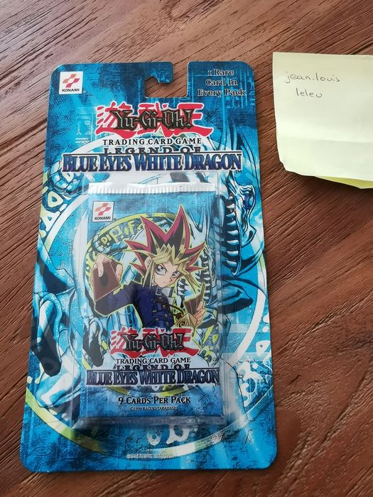 Konami - Yu-Gi-Oh! - Trading card Yu-Gi-Oh! American 1ST EDITION Legend of Blue Eyes White Dragon booster sealed - 1996