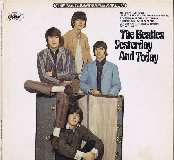 Beatles - Yesterday And Today (2nd state Butcher Cover) - LP Album - 1966/1966