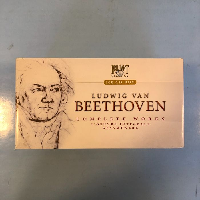 Ludwig von Beethoven - Complete Works ( 100 cd + cd rom ) - CD Boxset - 2007/2007