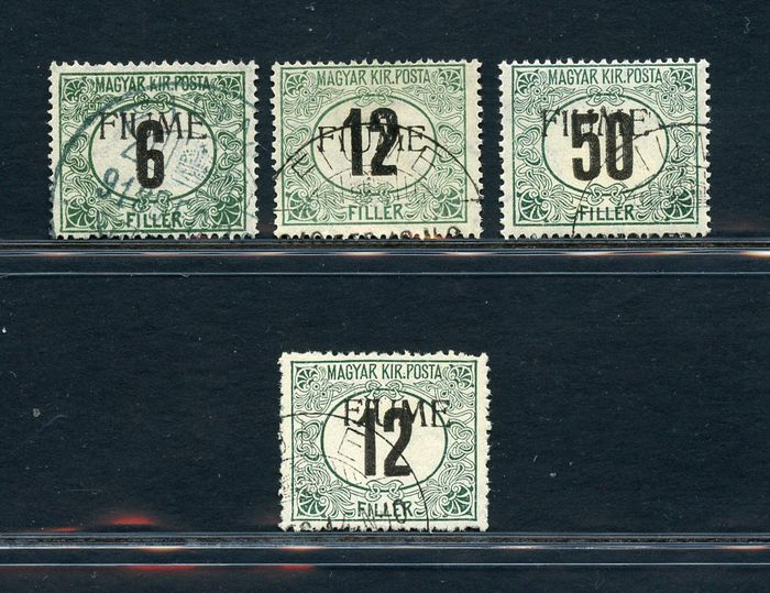 Italië - Fiume 1918 - Postage due - machine overprint - Sassone NN. Tx C1/3 - B2
