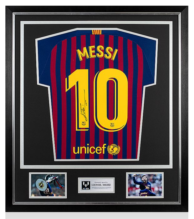FC Barcelona - Spanish Football League - Lionel Messi - 2018 - Jersey