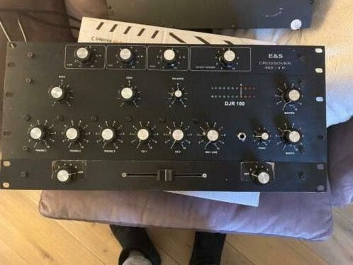 E&S - Rotary Mixer DJr00 crossover 400 + fader - Pré-Amplificateur - France - 2016
