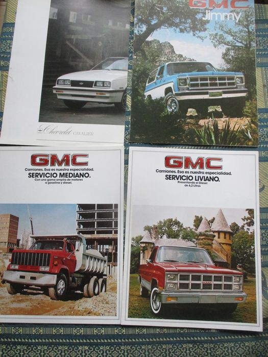 Brochures / Catalogi - Production/performers/Jeep/Jimmy/Truck - GM - 1980-1990