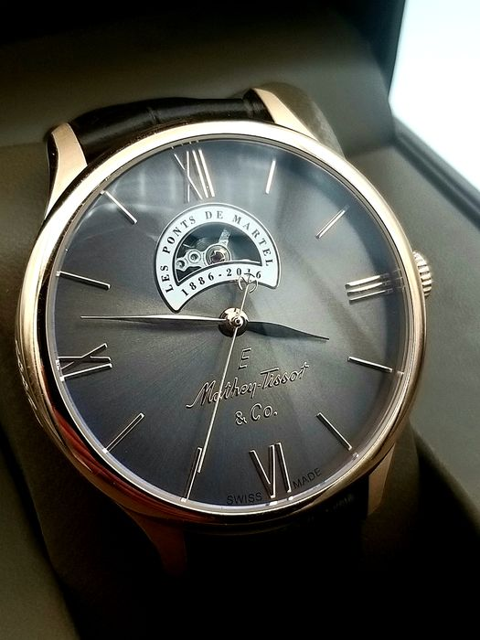 "Mathey-Tissot - Automatic Edmond Limited Edition 78/100 Open Heart - ""NO RESERVE PRICE"" - Mænd - 2020"