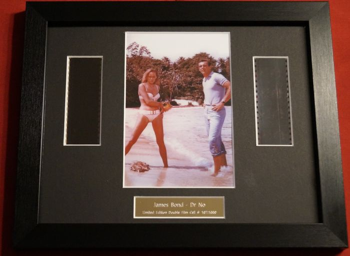 James Bond 007: Dr. No - Sean Connery - Film Cell Display with COA, Limited Edition Framed