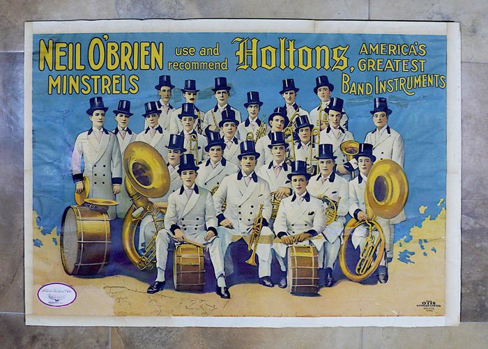 Anonymous - HOLTONS 1900 - Neil O'brien Minstrels - 1900
