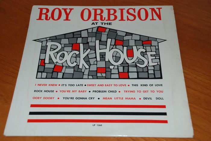 "Roy Orbison - ""At The Rock House"" LP Album - LP Album - 1961/1961"