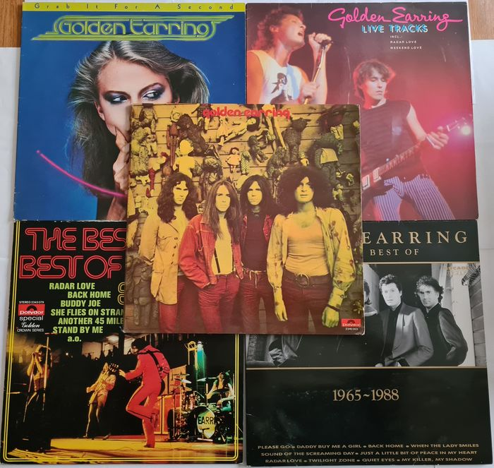 Golden Earring, Golden Earrings - Différents titres - LP's - 1970/1988