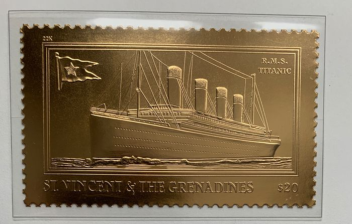 Monde - Collection Titanic 100 years
