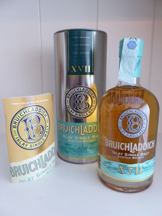 Bruichladdich 17 years old XVII - First Edition - The Reflective Cuvée - Original bottling - b. 2006 - 700ml