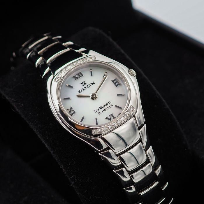 """Edox - Les Bémonts 20 Diamonds - """"NO RESERVE PRICE"""" - 28109 3PD NAD - Mujer - 2011 - actualidad"""