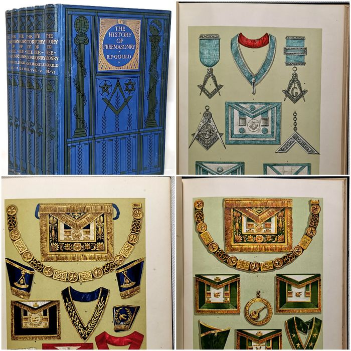 Robert Freke Gould - The History of Freemasonry. Its Antiquities, Symbols, Constitutions, Customs, etc. - 1890