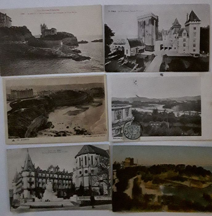 France - of the Pyrénées-Atlantiques 64 - Postcards (Collection of 200) - 1900-1940