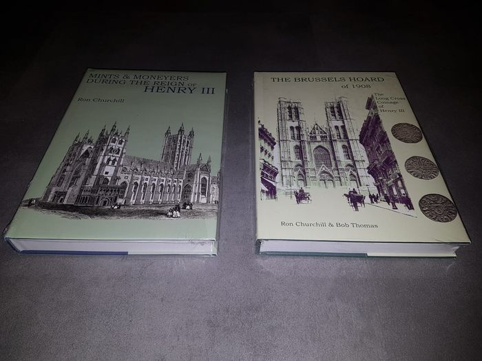 Literatuur. The Brusselshoard of 1908 & Mints and moneyers during the reign of Henry III.