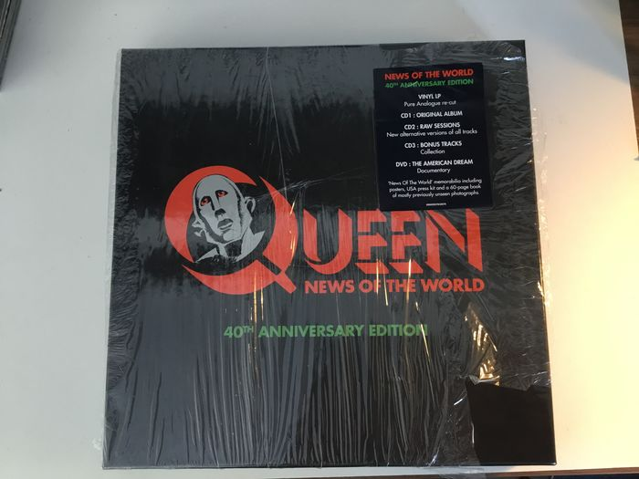 Queen - New of the World [40th anniversary edition] - CD Box set - 2017
