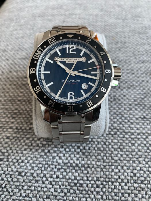 Raymond Weil - Nabucco GMT Automatic - 3800-ST-05207 - Hombre - 2011 - actualidad