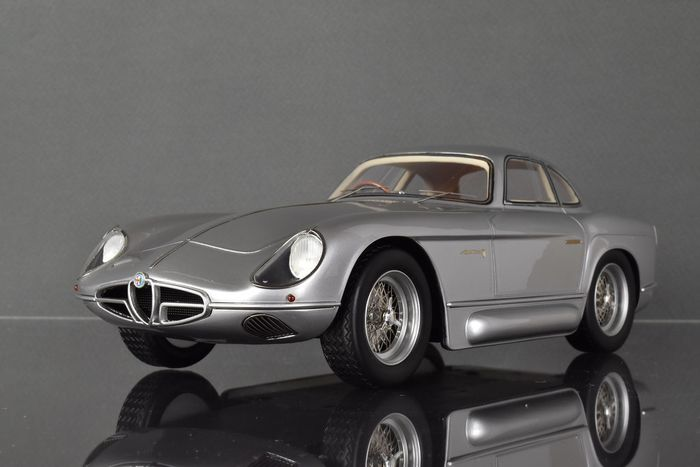 Tecnomodel Mythos - 1:18 - Alfa Romeo 2000 Sportiva 1954 - Limited Edition of 100 pcs. (Individually Numbered)
