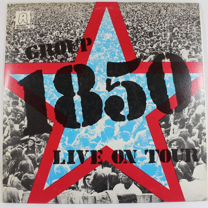 Group 1850 - Live On Tour - LP Album - 1976