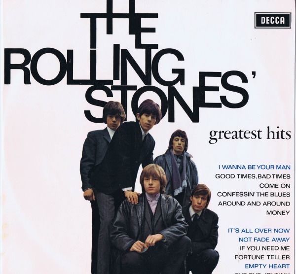 Rolling Stones - Greatest Hits (Holland only compilation) - LP Album - 1964/1964