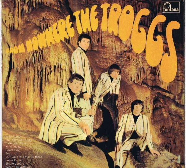 The Troggs - From Nowhere - LP Album - 1966