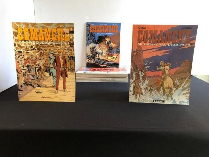 Comanche 1 t/m 15 - Complete serie - Softcover - First edition - (1972/2002)