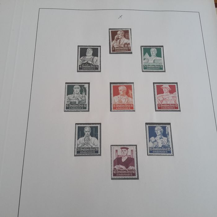 German Empire 1934/1945 - Collection in a Lindner album