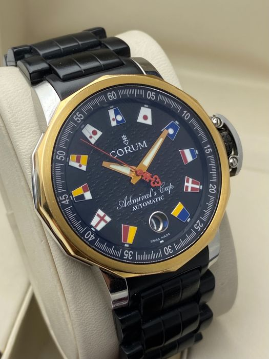 Corum - Admirals Cup 18K Gold/Steel Automatic - 082.831.24 - Mænd - 2000-2010