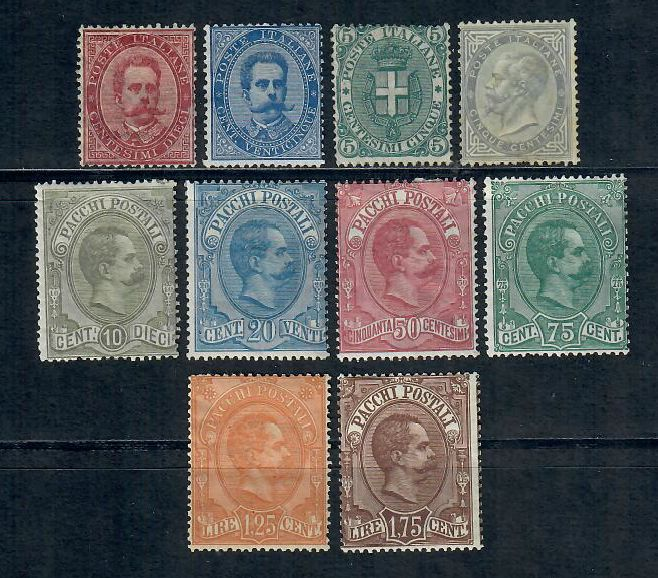 Europe 1850/1891 - Italy Kingdom, Austria, Lombardy (2 stamps signed) - Michel