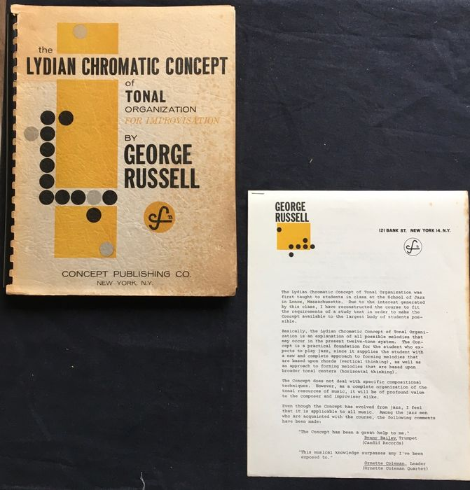 George Russell - The Lydian chromatic concept of tonal organization for improvisation - 1959