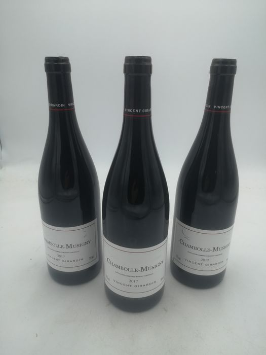 """2017 Chambolle Musigny """"Vielles Vignes"""" - Vincent Girardin - Chambolle Musigny - 3 Flaschen (0,75 l)"""