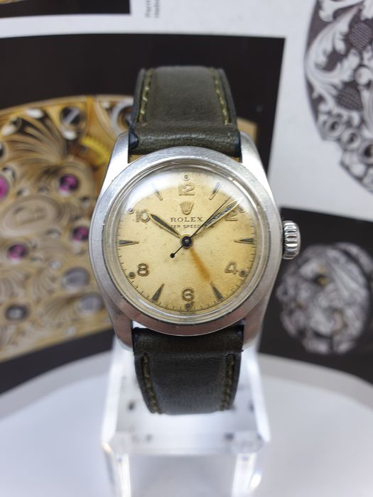 Rolex - Oyster Speedking Military Style - 6056 - 中性 - 1901-1949