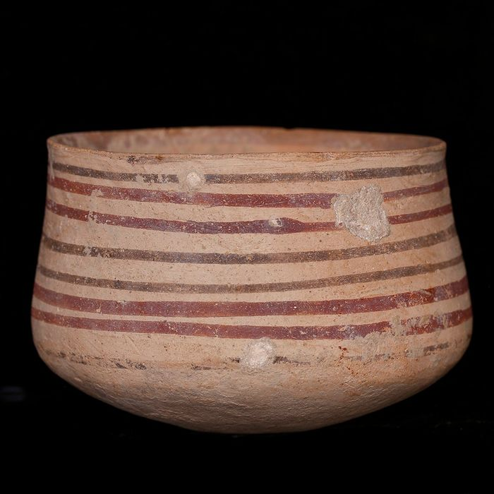 Indus Valley Terracotta Cylindrical Vessel