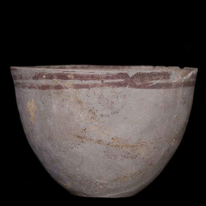 Indus Valley Terracotta Striped Cup