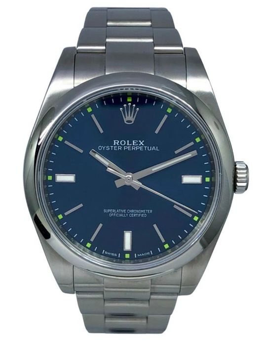 Rolex - Oyster Perpetual Blue Dial 39 MM - 114300 - Hombre - 2011 - actualidad