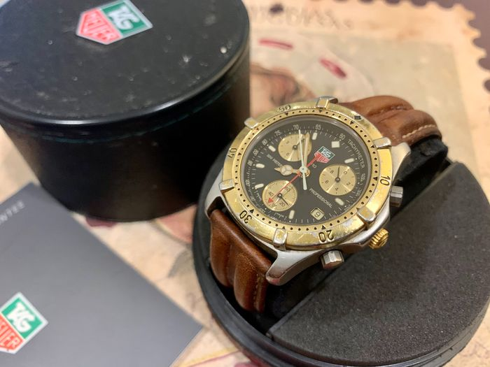 TAG Heuer - 2000 Series Professional 200m Chronograph - Ref. CE1120 - Hombre - 1990-1999