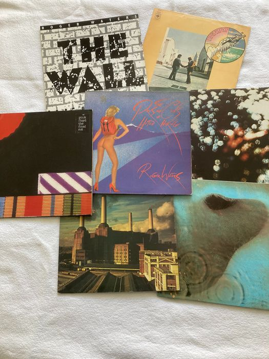 """Roger Waters, Pink Floyd - Incl. Roger waters 'The Wall, live in Berlin"""" and 5 of best Pink Floyd albums - Différents titres - 2xLP Album (double album), LP's - 1971/1990"""