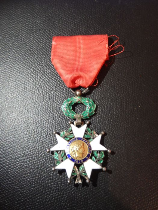 France - Army/Infantry - Military medal legion of honor 1870 (Q12M2)