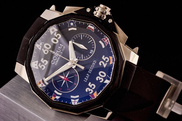 Corum - Admirals Cup Chronograph Leap Second - Limited Edition - 01.0034 - Men - 2000-2010