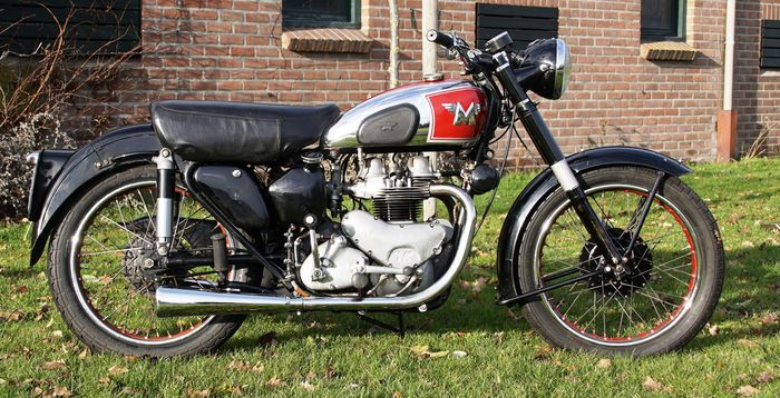 Matchless - G9 - Twin - 500 cc - 1955