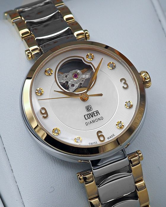 """Cover - Lady Diamond Automatic Open Heart - COA8.02 - """"NO RESERVE PRICE"""" - Mujer - 2011 - actualidad"""